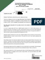 Frank Campis Arrest Report