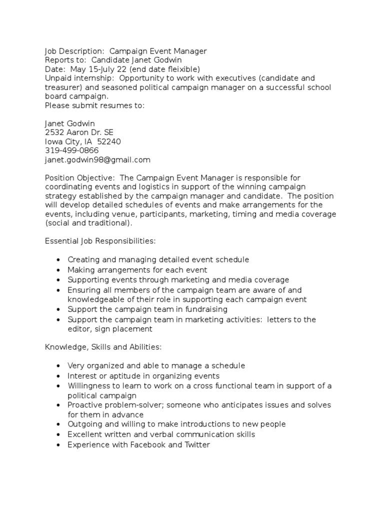 tour manager job description resume format for job design