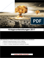 Kriegsvorbereitungen 2017 - Update