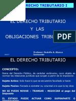 El Derecho Tributario y Las Obligaciones