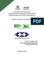 Edição Fundamentos Da Administração I Atualizada