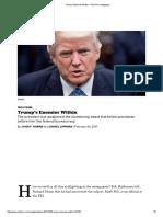 Trump's Enemies Within - POLITICO Magazine
