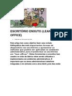 ESCRITÓRIO ENXUTO