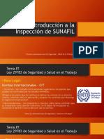 INTRODUCCIÓN A INSPECCIÓN SUNAFIL