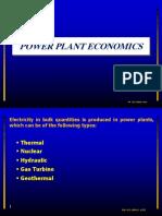 Power Plant Economics