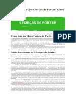 O Que São as Cinco Forças de Porter