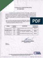 Certificado Guante de Cabritilla Con Forro