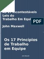 Palestra_As 17 Incontestáveis Leis do Trabalho em Equipe.ppt