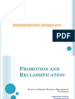 Promotion & Reclassification (2)