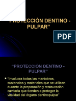 PROTECCION DENTINO PULPAR