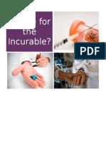 brochureacurefortheincurable docx
