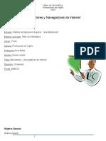 Plan de Clases Buscadores y Navegadores Web Noe