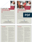 CWR Bulletin Insert (Summer 2010), 2-Sided, Color