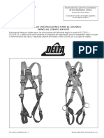 Delta Harnesses Instruction Manual Spanish