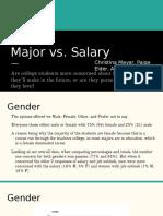 a4- major vs  salary presentation  1