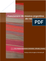 Cancionero Folklorico