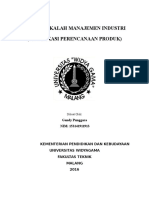 Tugas Makalah Manajemen Industri