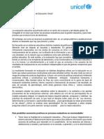ELENA DURO. Evaluacion Educativa