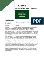 Sistem Pemerintahan Saudi Arabia