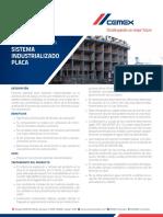 Ficha Tecnica Concreto Sistema Industrializado Placa