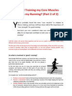 Core Muscles in Running Part 2