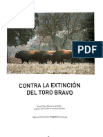 CONTRA LA EXTINCION DEL TORO BRAVO