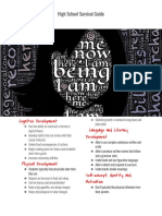 h s developmental brochure