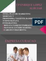 Plan de Marketing Grupo Curacao