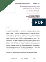 Metodologia para estudio de clima organizacional.pdf