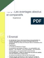 67192809 Td 2 Les Avantages Absolus Et Ifs
