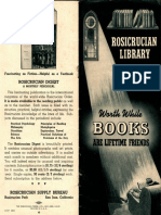 AMORC Supplies Catalog (1953)