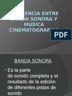 Diferencia Entre Banda Sonora y Musica Cinematografica