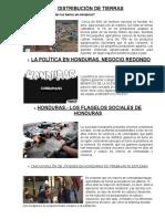 Problemas Sociales en Honduras Con Imagenes e Inf