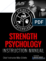 Strength Psychology Instruction Manual