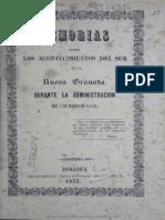 1853 Mercado, Memorias Sur, 7 Marzo, 1849