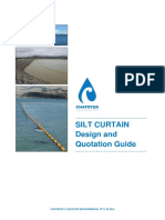 Silt Curtain User Guide