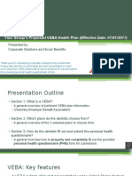 VEBA Plan Presentation