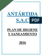 Plan de Higiene y Saneamiento ANTARTIDA SAC Copia Correcion