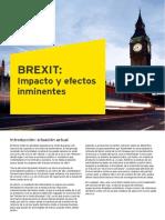Ey Brexit Impacto y Efectos Inminentes