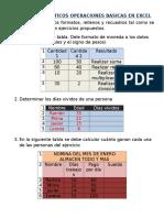 Ejercicios Practicos Operaciones Basicas Excel