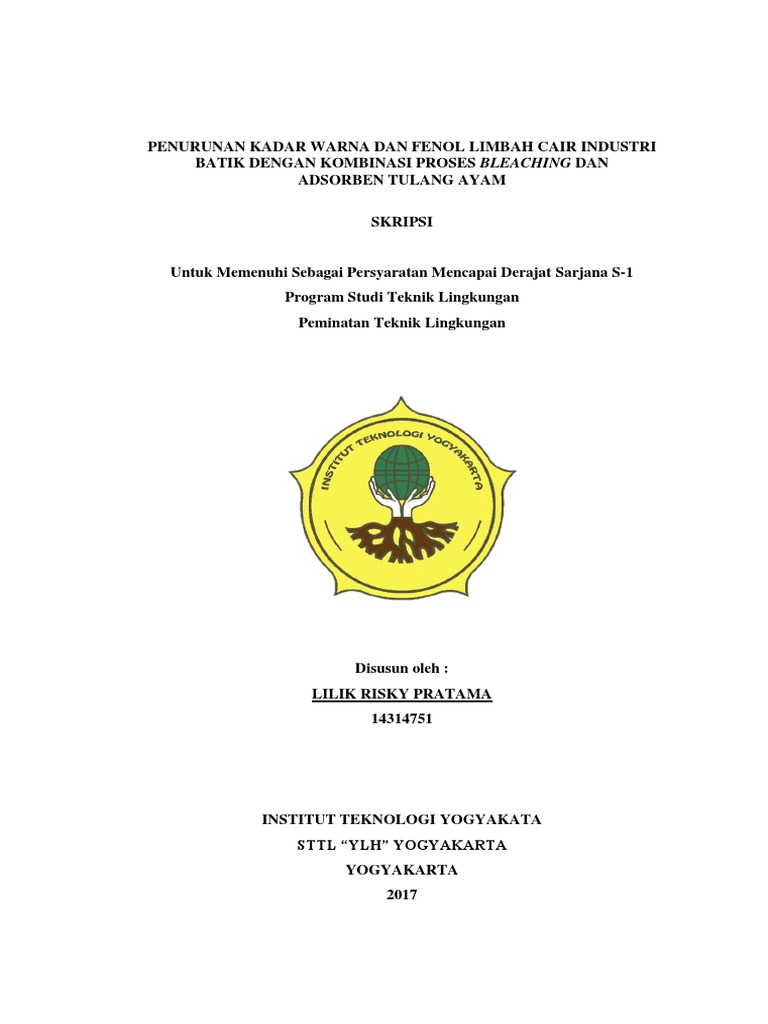 Skripsi Lilik Risky Pratama 14314751 Pdf