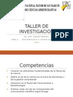Clases 1 - Epistemología