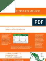 La Industria energetica en México