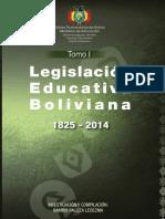 Compendio de la normativa educativa Bolivia
