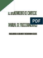 Manual de Procedimientos de SMAPAC