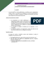 Texto Los Beneficios Sociales y Su Clasificacion