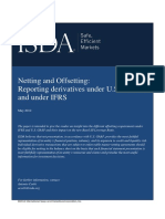 Offsetting Under US GAAP and IFRS - May 2012