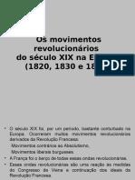 Revoluções burguesas XIX