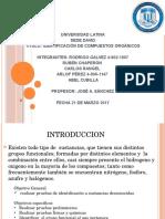 universidad latina-quimica-identificacion de sustancias