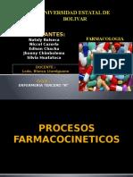 PROCESOS-FARMACOCINETICOS